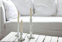 Inspiration: white home decor- Inspiración: decoración en blanco