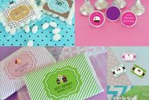 Personalized Birthday Party Favors / Birthday party favors for kids, sweet 15/16, and adult