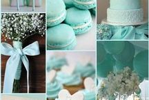 Tiffany Blue Bridal Shower / Something blue wedding, bridal shower and engagement party favors and ideas