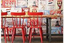Inspiration: restaurants/ coffee shops- Inspiración: restaurantes/ cafeterías