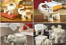 Elephant Wedding Favors / Indian theme wedding, elephant them wedding or party