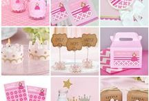 Princess Baby Shower Ideas / Inspiration and ideas for throwing a Princess Baby Shower