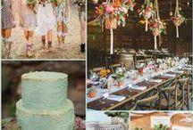 Boho Wedding Ideas / Boho Wedding Ideas and Inspiration
