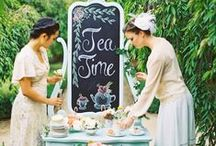 ~Tea in The Garden~ / Feel free to pin as many as you like