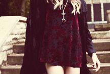 Fashion / black, lace, studs...