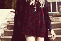 MY STYLE / black, lace, studs...