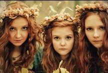 ~Meet The Mysterious Ginger Sisters~ / pin as many as you like