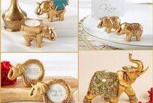 Indian Wedding / Good luck Indian wedding with elephant
