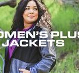 Women's Plus Jackets