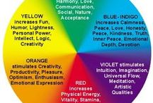 Color Therapy - Chromotherapy - Using Color for Healing / Chromotherapy and Color Therapy: Using Color for Healing, Raising Vibrations, Raising Personal Energy, how different colors affect us