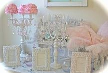"Dreaming About Shabby chic / Shabby Chic is one of the ""LOVE'S"" of my life! My bedroom looks like some of the pins I have on my board! / by Beverly Wildman"