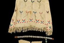 Dakota/Lakota Expression / Beadwork, quillwork, moccasins, accessories, and materials used.   / by Avis Charley