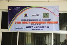 "Faculty Empowerment Workshop by WIPRO / A 2 day faculty empowerment workshop organized at Sharda University by ""WIPRO-Mission 10x"""