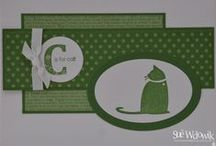 Stampin' Up! C is for Cat