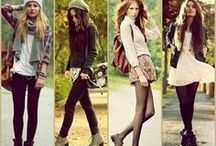 My wardrobe (: / I'm a total fashionista so here are some of my clothing inspirations / by ✖️K I J✖️