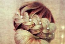 Kampaukset - Hair UpDo -Nutturat - Buns - Tutorials / Juhlakampaukset - tutorialit - nutturat häihin - weddinghair