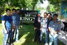 SU Students For Summer Internship at King's College, Canada / At SU, students have an opportunity to develop their skills beyond the classroom and gain a competitive edge in the global job market  Recently, our MBA Ist year students have gone for one month summer internship at King's college, Canada.