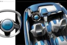 Car Interiors / Inspiration for current as well as future interiors in the car