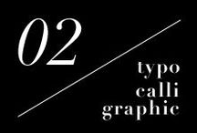 02 / Typo&Calli Graphic