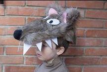 Disfraz de lobo / disfraz de lobo DIY