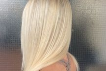 Hair - Hiukset / Omat Työt - Hair by me / Kaikki hiusmallit lyhyistä pitkiin - all kind of hairstyles - pixie cut / medium length / long hair and all the colors