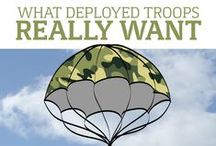 Care Packages / Send support to our troops with these care package ideas.