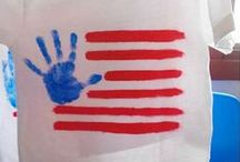 Kids' Crafts / Fun USA-themed crafts for kids and adults alike.