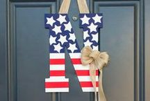 The American Home / Americana-inspired home decor and DIY projects.