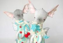 Soft toys / art toys, soft toys, hand made toys