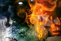 """Elements / ,,Storm, earth and fire; heed my call!"""" - Shamans of the Horde"""