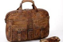 Leather Messenger Bags / Unique Messenger Bags, Cool Messenger Bags, Full Grain Leather Messenger Bags