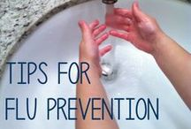 Flu Prevention / These all year round #prevention #tips will help protect you and your loved ones from the #flu.