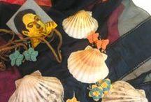 orecchini / Orecchini realizzati in macramè, perle, pietre... per accendere di luce la nostra estate