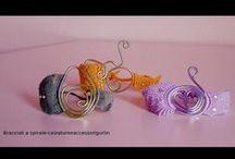 braccialetti / Braccialetti coloratissimi realizzati in macramè