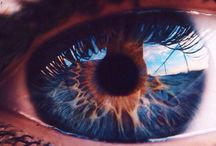 """Eyes / ,,Look into my eyes. It's where my demons hide, it's where my demons hide."""" - Imagine dragons"""
