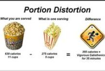 "Right Size Your Portions / Larger portion sizes encourage people to eat and drink more – no matter how hungry we are. The more we are served, the more we eat. This leads to weight gain because people consume more calories than they need. Follow this board for tips on ""right sizing your portions!"""