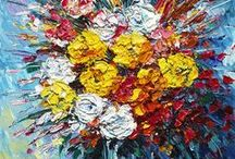 Floral Artwork / Some of the most beautiful bouquets are grown from brushstrokes.