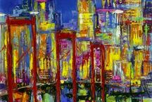 Cityscapes / Spectacular skylines, bustling streets and city lights.