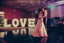 LOVE light up letters / sussex light up letter hire