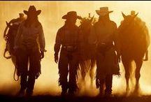 Kovbojové / Ženy a muži v sedlech s láskou ke koním