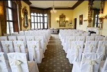 Chair Covers and Sashes from Pollen4hire / see the chairs dressed at your Sussex wedding venue with bespoke linen chair covers and sashes in a fantastic range of gorgeous colours and fabrics including organza, satin, taffeta, lace and hessian all supplied by Pollen4hire www.pollen4hire.co.uk