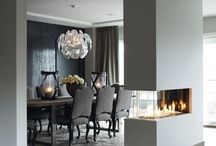 Dining rooms / if I ever get the chance to decorate our home else, I find beautiful ideas here