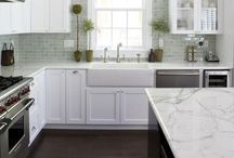 Kitchens / if I ever get the chance to decorate our home else, I find beautiful ideas here