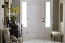 Hallways / if I ever get the chance to decorate our home else, I find beautiful ideas here