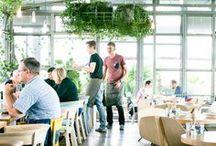 Interiér restaurant designe / nápady v restauračních interiérech moderní designe