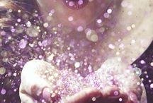 "Sparkle / ,,Glitter is always an option."""