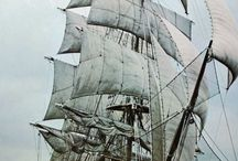 """Ships / ,,A smooth sea never made a skillfull sailor."""""""