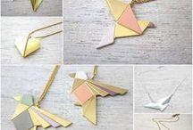 bijoux style géométrique
