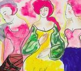 #FIERCE Women / A collection of the #fiercest female artwork.