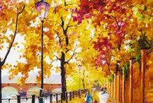 Fall Scenes / Artists who capture the beauty of fall through their artwork.